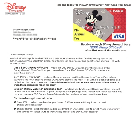 Disney Uses Direct Letter Marketing To Try To Get People To Sign